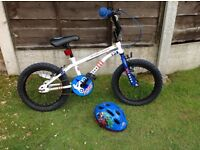 """APOLLO STUNT KING 16"""" BOYS BIKE £40, Collection or delivery locally (see ad)"""