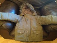Boys parka style coat