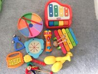 Bundle of musical instruments