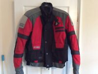 AKITO MOTORCYCLE JACKET GOOD CONDITION