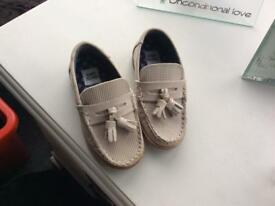 Baby Boys River Island Loafer shoes size 5