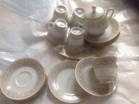 Tea Set - grape - x 6 trios - ONE DAY SALE