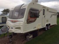 4 Berth Bailey Cartagena 2014 twin axle caravan - AS NEW, includes island bed, Alde heating system