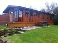 3 BED LUXURY LODGE TO RENT HAGGERSTON CASTLE GOLF BREAK SCHOOL BREAK GOLF SWIMMING