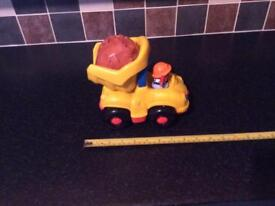 LITTLE PEOPLE TOY DUMPER TRUCK