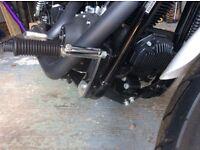 Harley Davidson adjustable highway peg kit