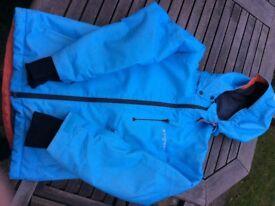Powder blue jacket -Everest advanced technology