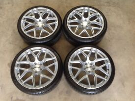 "19"" ISPIRI ISR10 WHEELS AND TYRES(MERCEDES,GOLF,PASSAT,JETTA,LEON,CADDY,TOURAN,E350,C220,C250,GTD)"