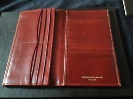 Men's leather jacket wallet