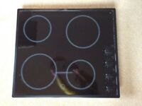 Ceramic hob CM600 Blk Electrolux. 4 rings. Very good condition.