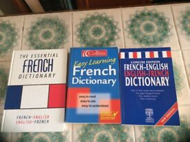 English-French dictionaries