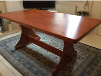 Large Pine Family Dining Table