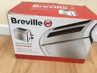 Breville two slice stainless steel toaster