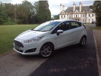 Immaculate Ford Fiesta Zitec 1 Ltr £0 road tax mot til March 2018 full service ,Bluetooth, air con,