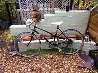 Raleigh Vintage ebony racer......