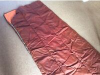 Polyester filled Sleeping Bag : 38oz Non allergenic
