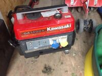 For Sale Kawasaki Portable Generator