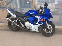 GSX 650F! Great running motorcycle!