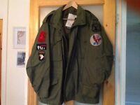 USA heavy army coat