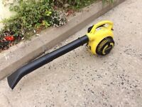 John Deere BH30 petrol leaf blower light weight and in great condition.