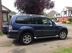 SHOGUN ELEGANCE DID 7 SEATER FULL BLACK LEATHER SUNROOF LOW MILEAGE