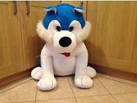 Large husky dog