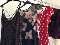 Size 12 Kaliko Jacket, Marks and Spencer and Billie and Blossom labels.