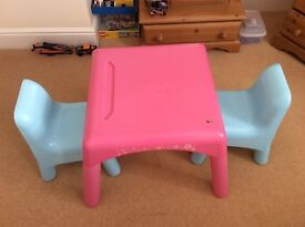 Early Learning Play Table and Chairs