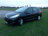 £20 road tax ,2011 Peugeot 207 sw Estate , 65,000 miles full service history