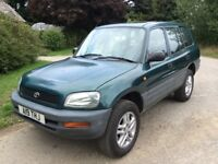 1997 TOYOTA RAV-4 GX AUTOMATIC - JUST OUT OF M.O.T. - DRIVES SUPERB - IDEAL FOR OFF ROAD OR PROJECT