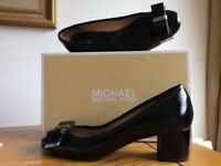 Black patent ladies Michael Kors shoes. Size 38. Only worn once.