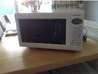 Panasonic slimline inverter microwave and grill
