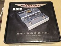 Ashdown NM2 Nate Mendel bass distortion effect. As new condition.
