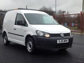 2015 VOLKSWAGEN CADDY 1.6 TDI STARTLINE. 1 OWNER. PLY LINED ETC. LOW MILEAGE. LOTS OF EXTRAS FITTED.