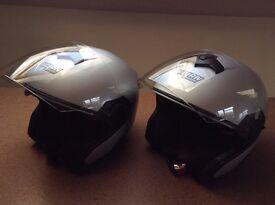 2x NOLAN N40 Open Face Motorcycle Helmet's unused