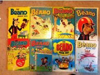 Beano Book Annuals 8 between 1968 - 1987