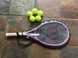 Wilson ladies raquet with cover