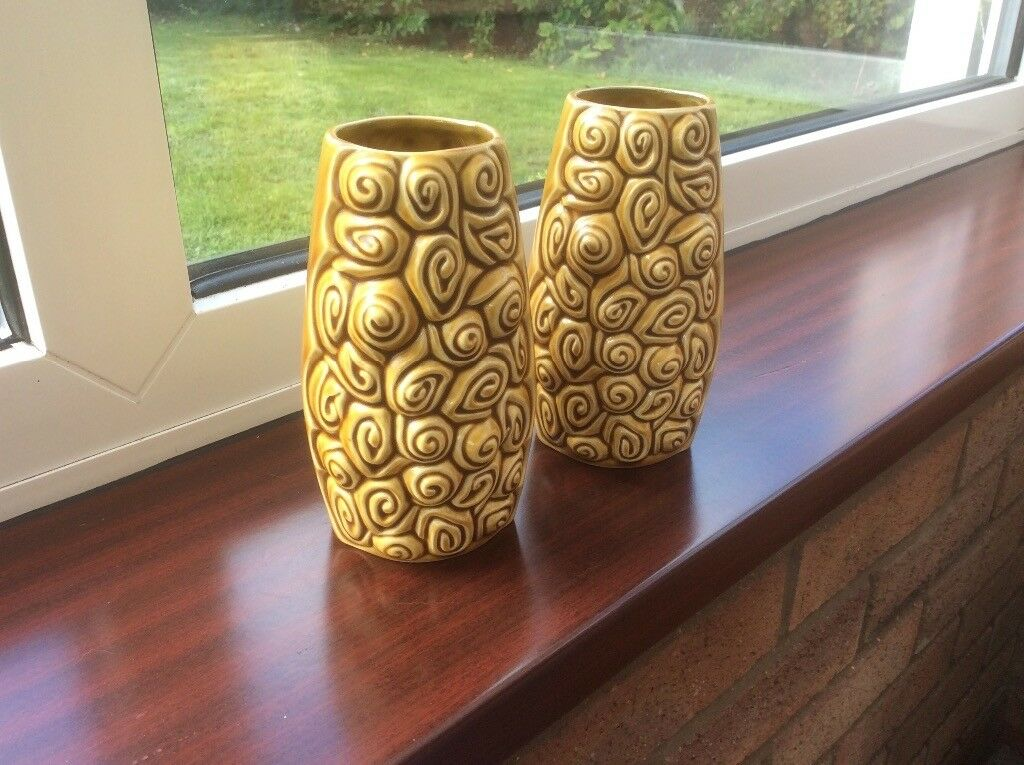 Mid Century Sylvac Vases In Felixstowe Suffolk Gumtree