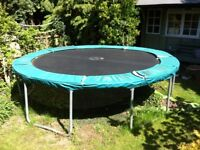 12ft trampoline, good quality, very spingy
