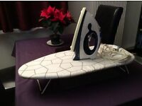 Lervia Iron and Table Top Mini Ironing Board - Great condition