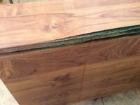 Free wood table water damage as in picture
