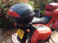 BMW K1200RS 1998 in red. Good condition with useful extras Runs very well