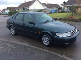 Saab 9-3 Automatic Hatchback Green Metallic
