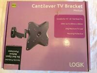LOGIK Cantilever TV Bracket (M12). New - never used - box unopened.