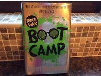 BOOT CAMP ( ROCK WAR) BY ROBERT MUCHAMORE ( HARDBACK)