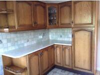 Kitchen & Integrated Fridge