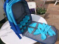 Insulated pic nic rucksack