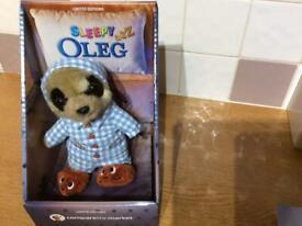 Sleepy Oleg toy