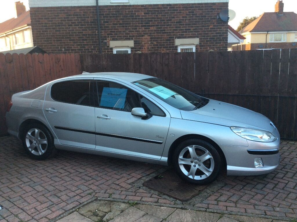 peugeot 407 2 0 hdi 2004 silver 4dr in hull east yorkshire gumtree. Black Bedroom Furniture Sets. Home Design Ideas
