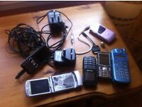 A bunch of my old Mobile phones, all working and good for parts.